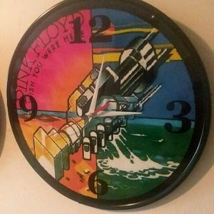 PINK FLOYD - WISH YOU WERE HERE 12 INCH WALL CLOCK